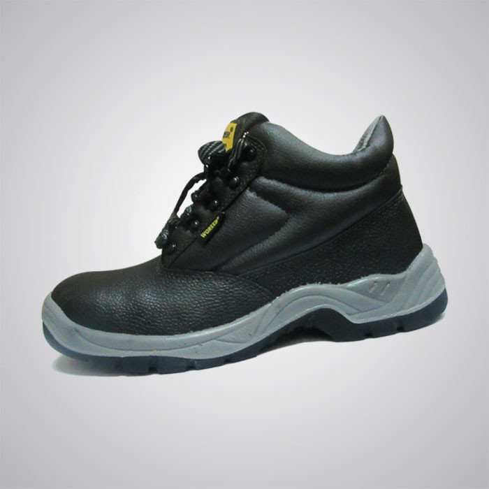 Worker Safety Shoes (W64) Leather Shoes