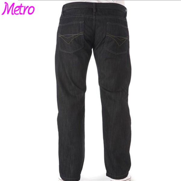 Mens Raw Selvedge Denim Jeans