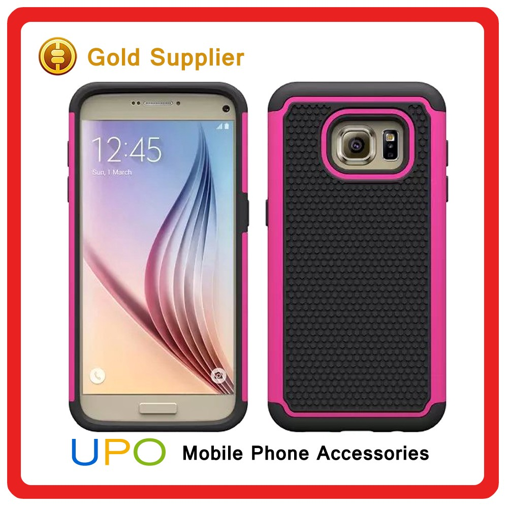 [UPO] Premium Slim Fit Dual Layered Hard Tough Protective Case for Samsung Galaxy s7 Phone Cover