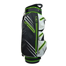 Factory Wholesale black fashion portable soft lightweight design your own golf stand bag
