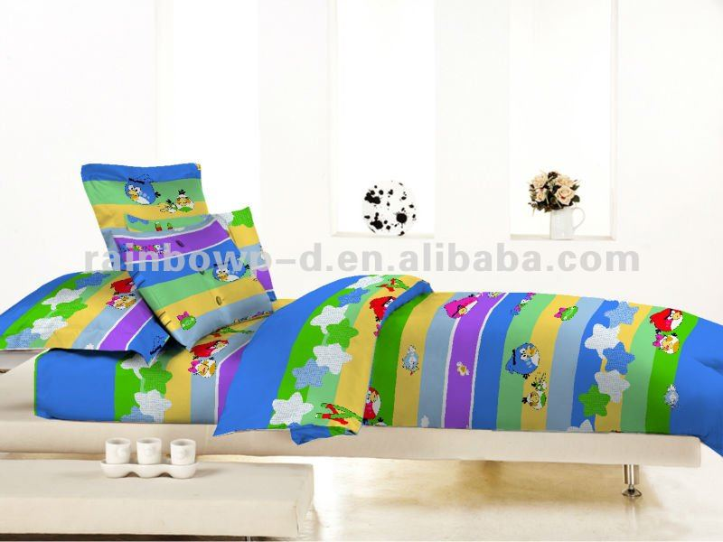 trade assurance cartoon animal printed bedding sets for children
