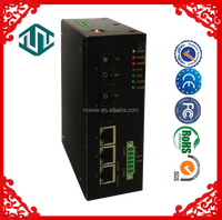 MIEN3205C Remote RS 232 rs485 canbus Data network fiber Switch
