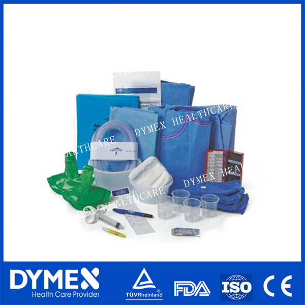Best Selling Products disposable Sterile Surgical Pack/Medical surgical drape packs
