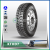 High performance tire tire with diamond pattern 10.00R20 KTHD7