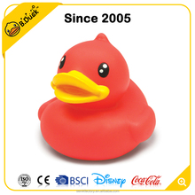 Semk wholesale cute colorful red inflatable floating rubber duck