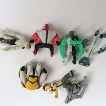 BEN 10 on the earth defender PVC doll dolls for the holiday gift cartoon animation around
