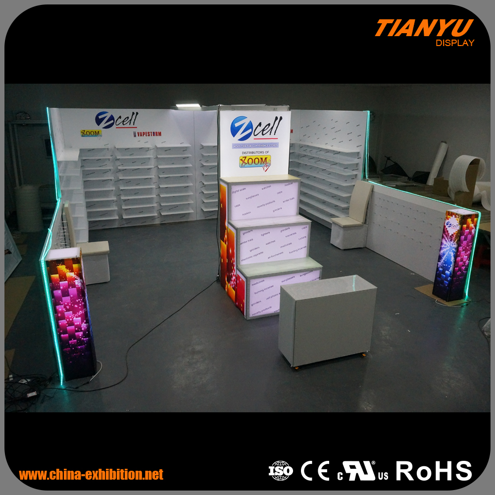 Custom Sizes Trade Show Guangzhou Display Products For Advertising
