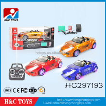 Hot sale plastic 1:16 scale 7ch rc dancing toy car remote control car HC297193