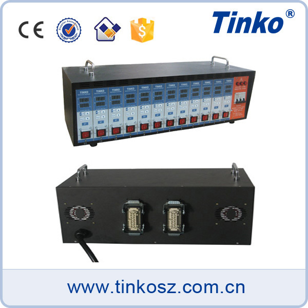 Plastic mold injection molding mold temperature controller for hot runner systems