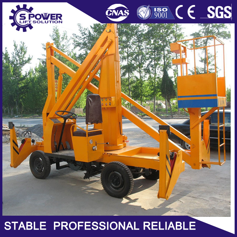 China cheap diesel power hydraulic window cleaning crane for building