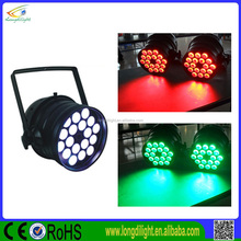 18*9W 3in1 led par 64 light/edison professional dj equipment