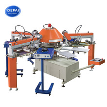 DEPAI SPG104/8 Automatic T Shirt Screen Printing Carousel Machine Cheap