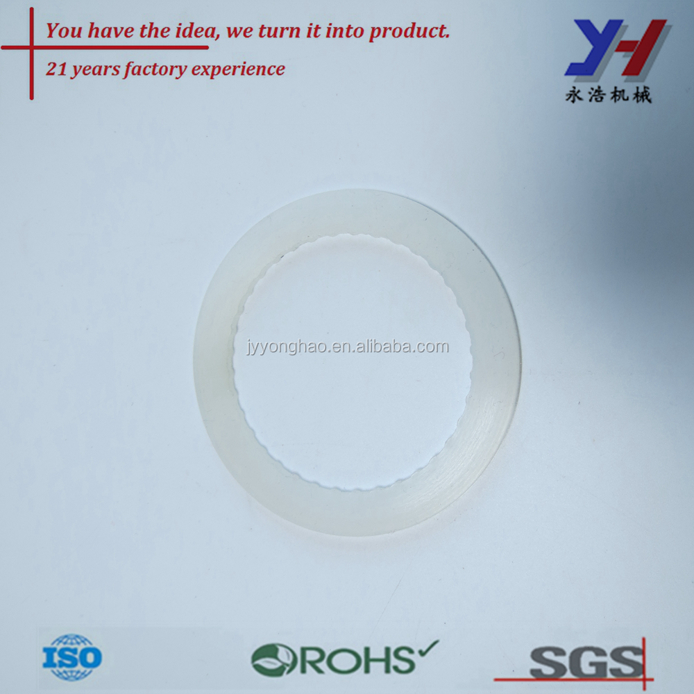 OEM ODM customized high precision white color sealing grommet/Silicone rubber round grommet