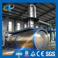 Waste Tyre Pyrolysis Oil To Diesel Distillation Equipment/Recycling Machine