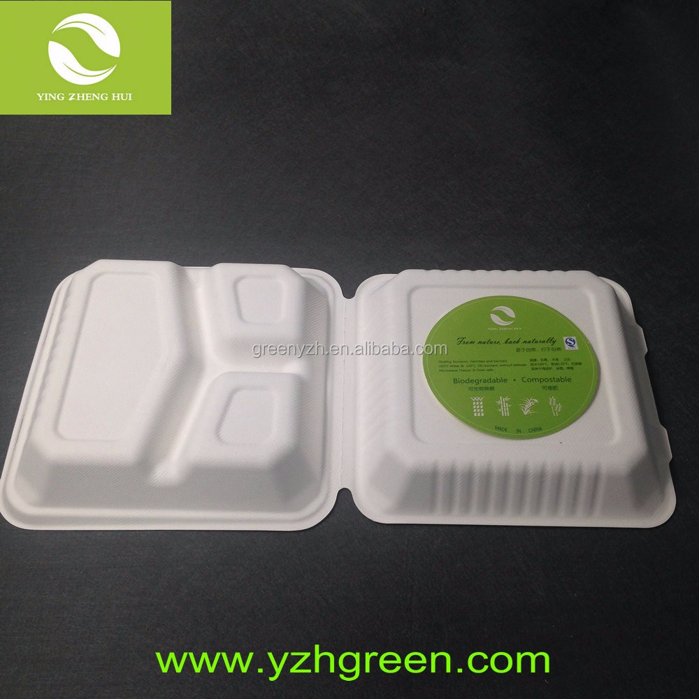 Wholesale Microwave Disposable Bamboo Food Containers