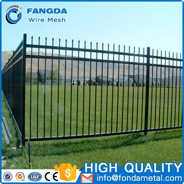 High quality powder coated Metal Frame Material Used cheap Fencing