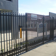 Metal galvanized steel fence post extensions