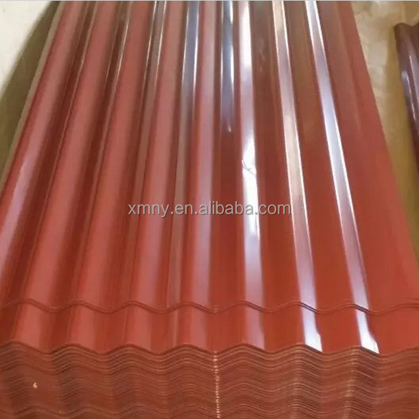 Supply width 600-1250mm color coated roofing sheet