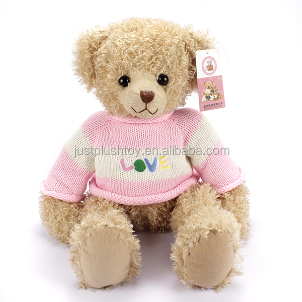 Unique funny shape design plush animal toy,very hot plush bear