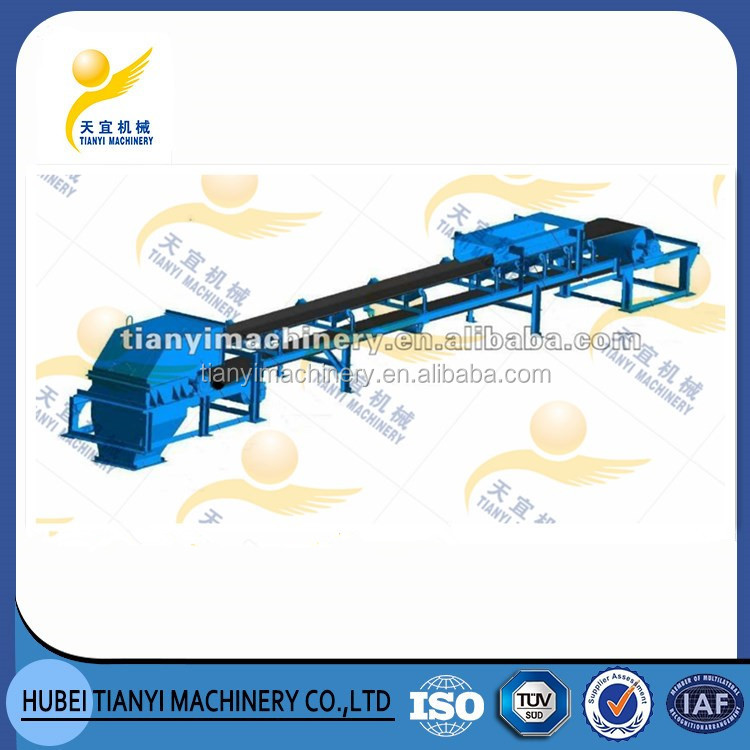 TUV certificated large capacity material handling equipment rubber belt roller conveyor China manufacturers