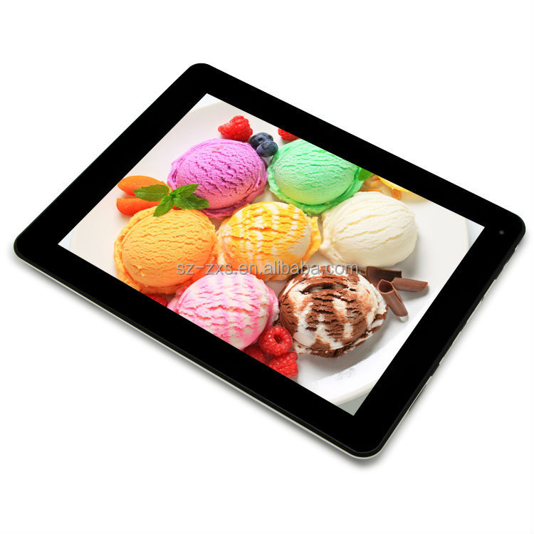 tablet pc prices quad core 9.7 inch android 4.4 tab IPS 1024*768 tablet with GPS