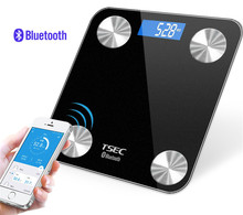 New Electronic Products On Market Bluetooth Smart Body Weighing Scale