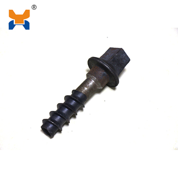 Proefessional raillway manufacture supplies rail screw spike fiffing for railroad
