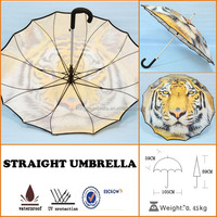 Tiger Or Cow Umbrella Childrens Kids Boys Umbrellas