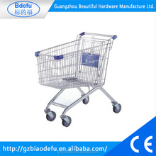 90L capacity trolley supermarket equipment