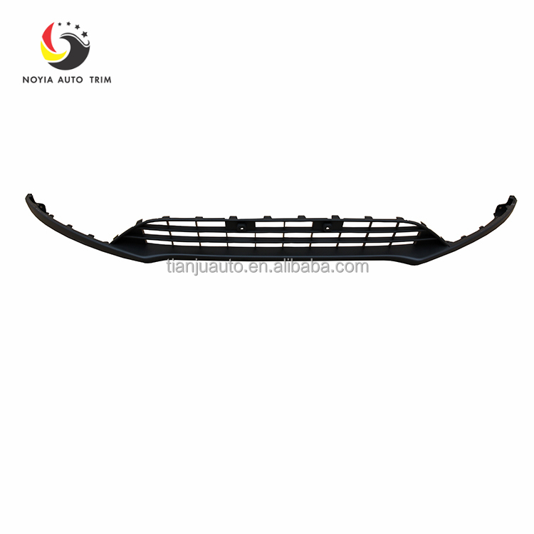 1 PC painted all electroplate front bumper lower grille all chromed for Ford Focus 2015