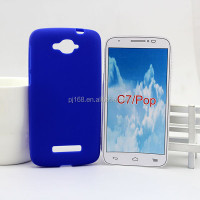 2013 new promotion mobile phone silicone case for alcatel one touch pop c7 7041x