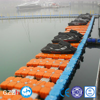 UV protected plastic pontoon boat pwc docks