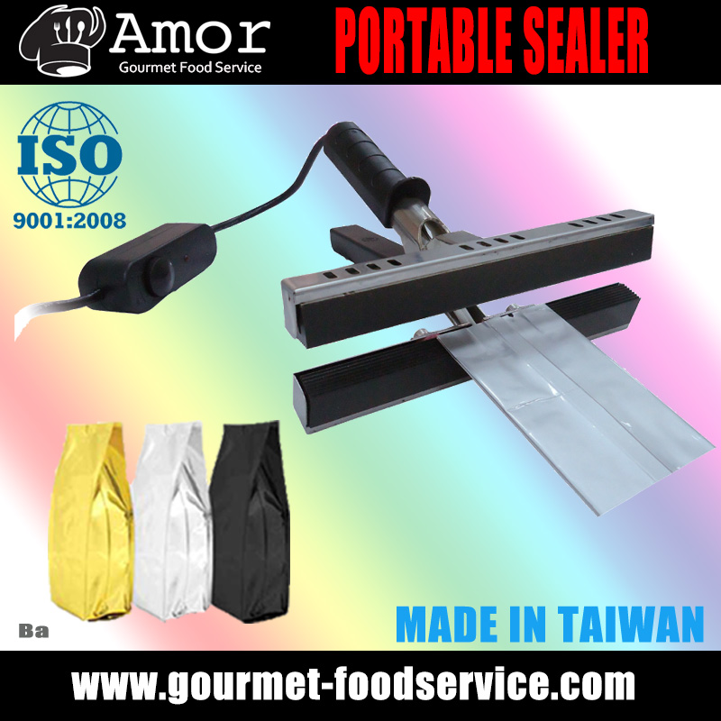 Taiwan Reliable Packaging 30 cm Handy Continual Impulse Sealer Machine