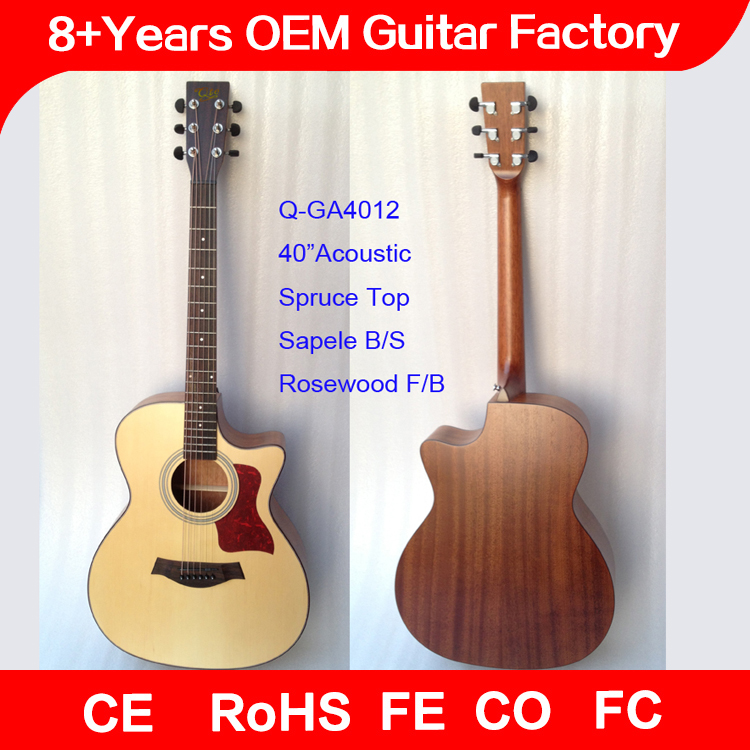 popular string Instruments good quality takamine acoustic guitars, factory wholesale china