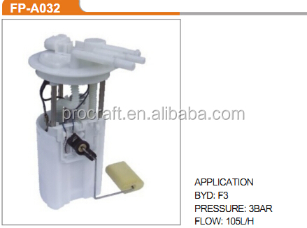 FUEL PUMP F3 3BAR 105L/H