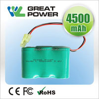 Contemporary hot sale rechargeable nimh battery pack aa 4.8v