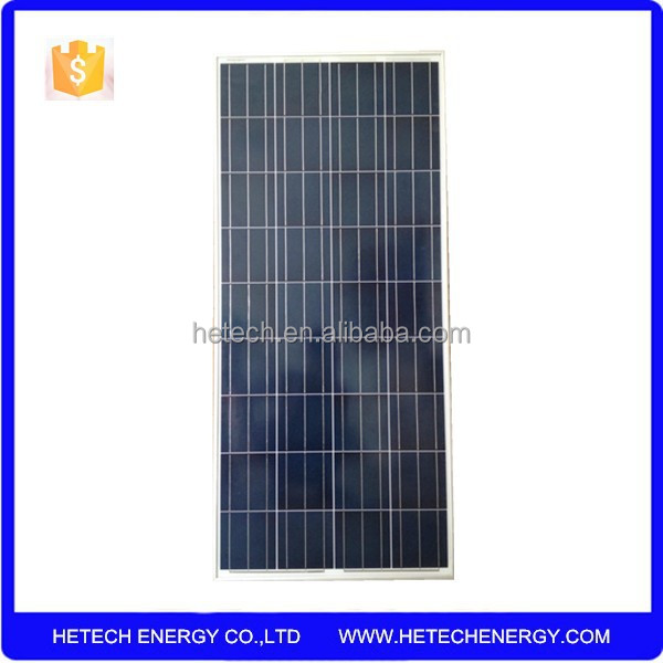 best price per watt solar panels 130wp polysilicon for sale