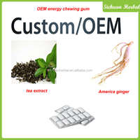 OEM Energy Chewing Gum Customize Chewing Gum