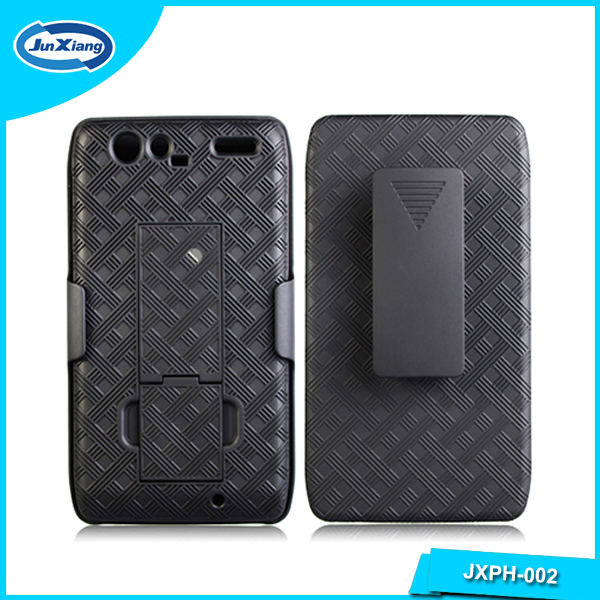 Hot selling factory phone holster case for motorola droid razr xt910 xt912