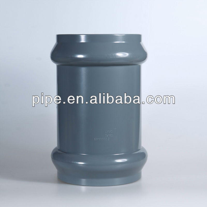 pvc fittings rubber joint