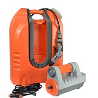 12V Automatic car wash machine battery rechargeable ,portable washer for car