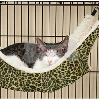 FERRET CAT HAMMOCK BED toys supplies LARGE 50*38cm INCLUDES CAGE CLIPS NEW Cat Hammock