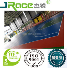 Outdoor indoor basketball tennis volley badminton court sport flooring