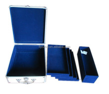 custom design aluminum mahjong set cases with aluminum case in mahjong storage