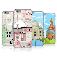 DOODLE CITIES SERIES Best Quality Cell Phone Plastic Cover