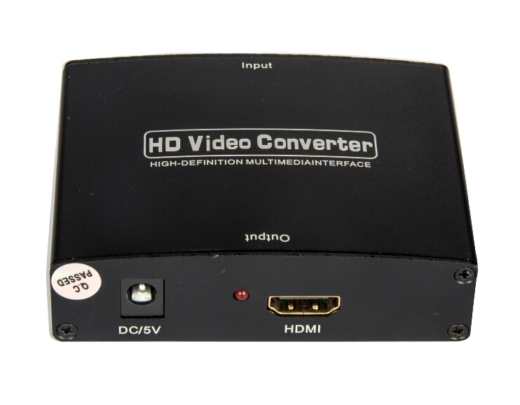 VGA to HDMI converter best price in China 1080P with metal case