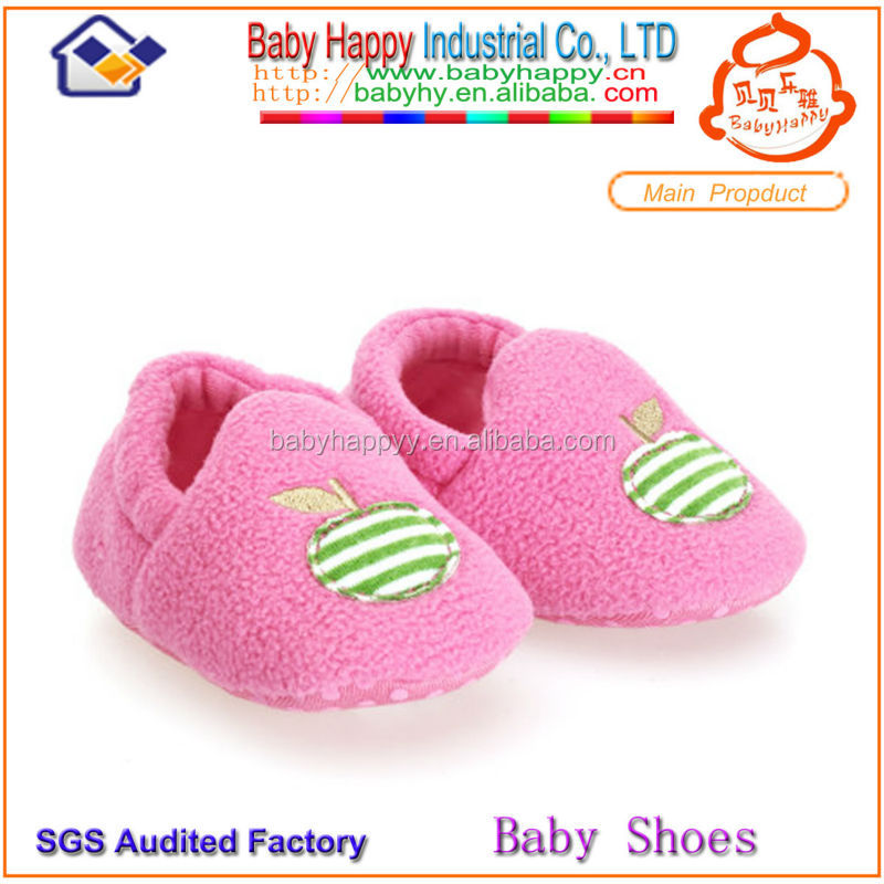 wholesale soft-soled warm comfortable health walking baby prewalker shoes