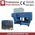 Waste plastic single shaft shredder machine