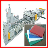 pp pe hollow grid plate manufacturing plant