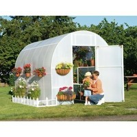 Small Garden Greenhouse Cover With Plastic